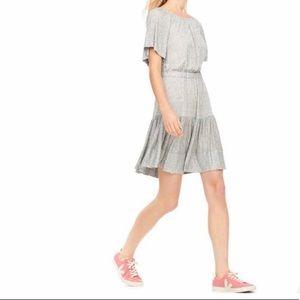 Rebecca Taylor Size Small Gray Summer Dress (NWOT)